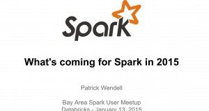 What's Coming For Spark 2015 – Bay Area Spark User Group
