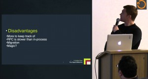 Microservices Described by a Scala Shop, Toby Matjovsky, North East Scala Symposium 2015