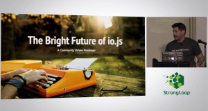 A Lightening Introduction to io.js, BayNode Meetup, Tony Pujals